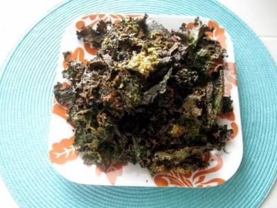 Tahini Roasted Kale