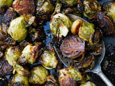 Balsamic Roasted Brussle Sprouts